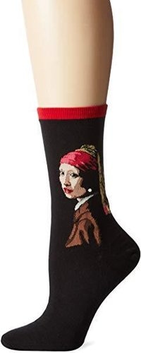 HOTSOX Damen Girl with the pearl earring - Vermeer