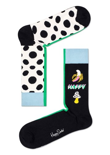 Happy Socks Half/Half Big Dot